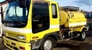 いすゞ フォワード 清掃車 中古トラック 高圧洗浄車 NRR32D1 入庫です!!JMO