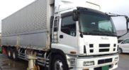 ISUZU ギガ ウイング 中古トラック CYL51V6 10輪高床 入庫です!!JMO