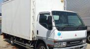 三菱ふそう FUSO キャンター バン 中古トラック FE63EEV 入庫です!!JMO